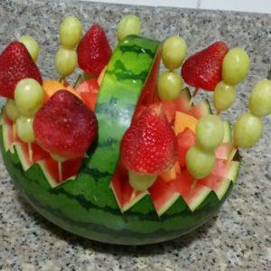 Detalles Saludables a Domicilio en Medellin - Canasta de Melon